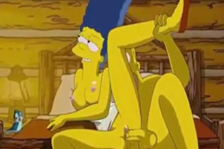 Новое Порно Симпсоны.