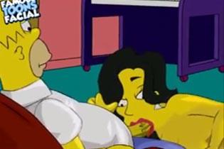 Порно Симпсоны