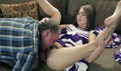 Секс с болельщицей