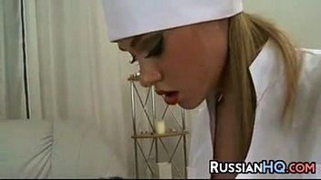 Секс с русской медсестрой
